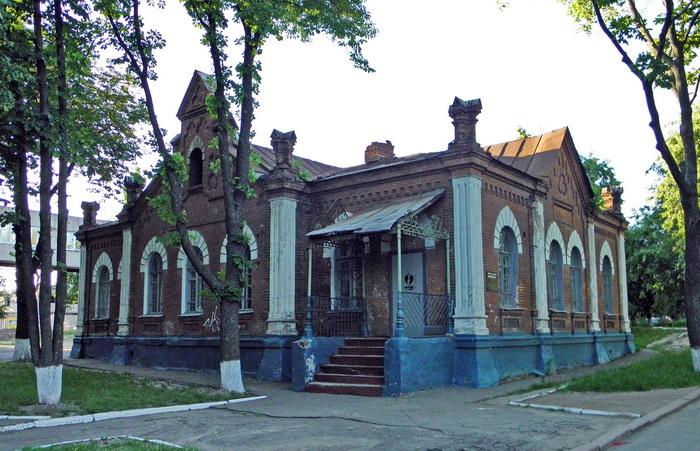 Олександрівська чоловіча гімназія Пансіон Флігель.JPG