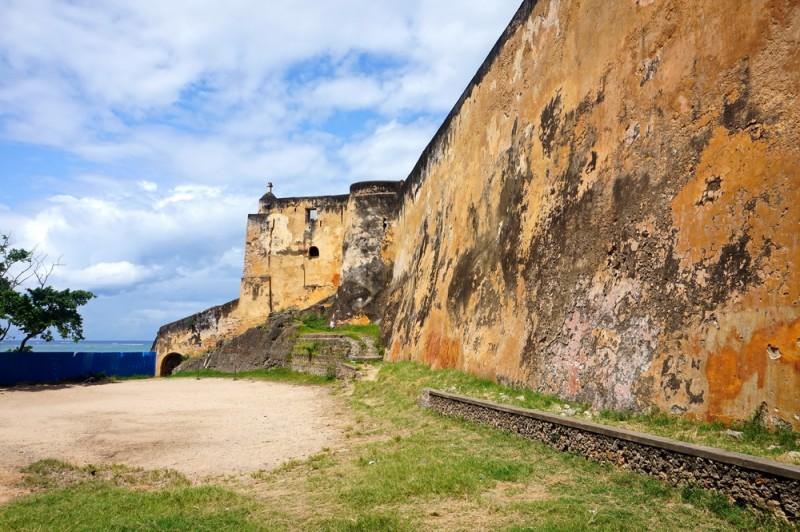 Форт Иисус в Момбасе