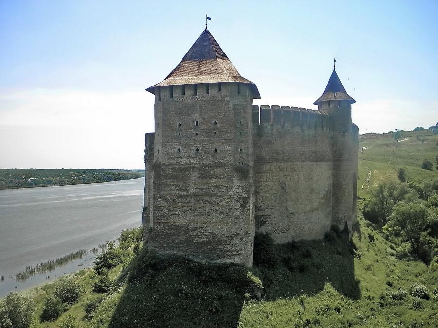 23 Хотин. Північна вежа