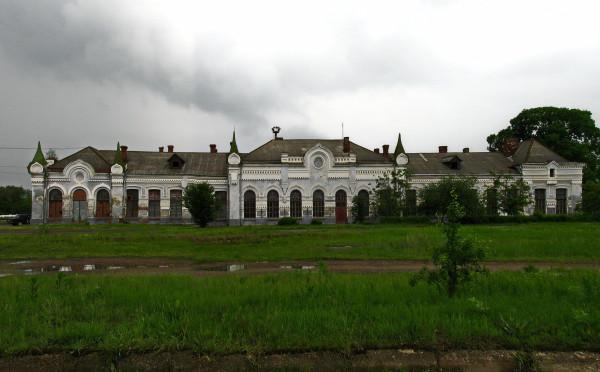 13 Новоселиця. Вокзал