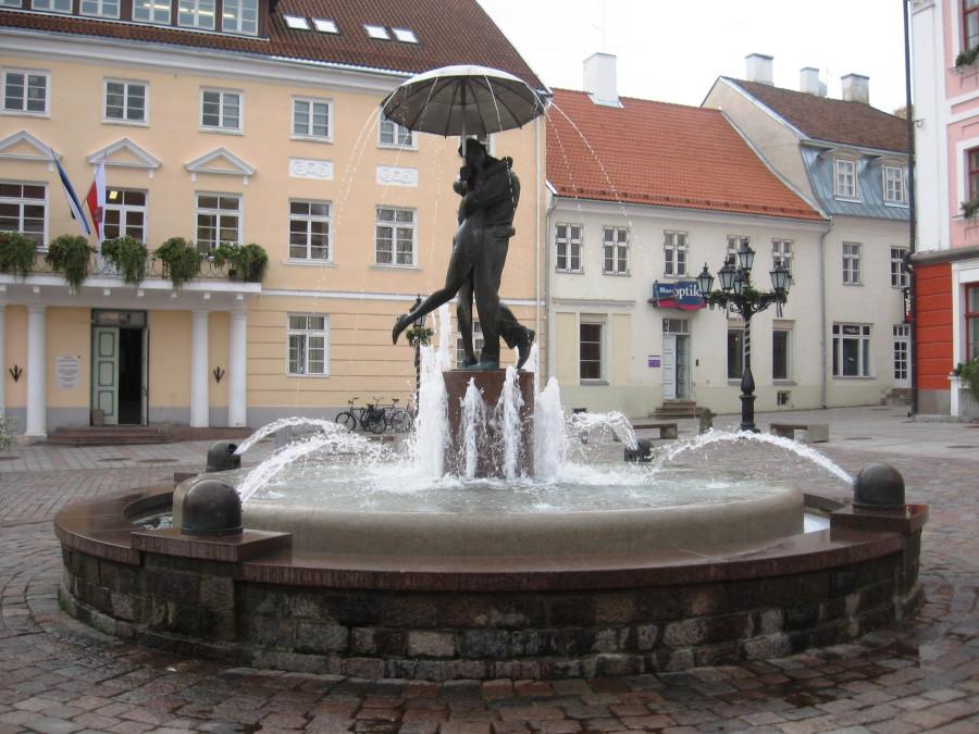 фонтан в тарту