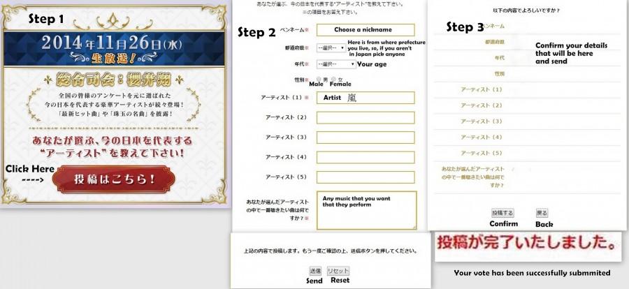 Arashi vote