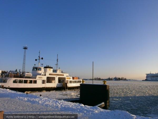 корабль на Суоменлинну