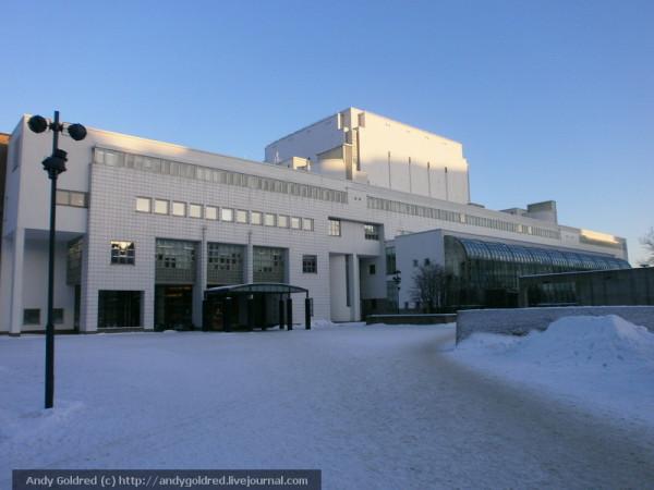 здание Оперы Хельсинки