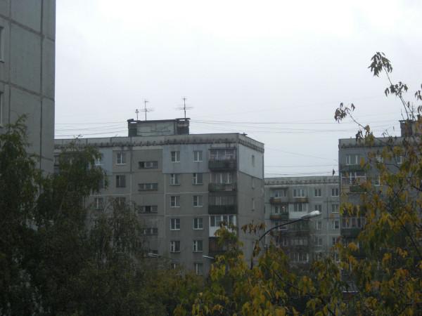 Фасад и торец утепленной квартиры