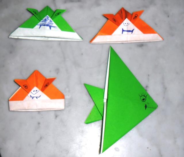 Тимины оригами