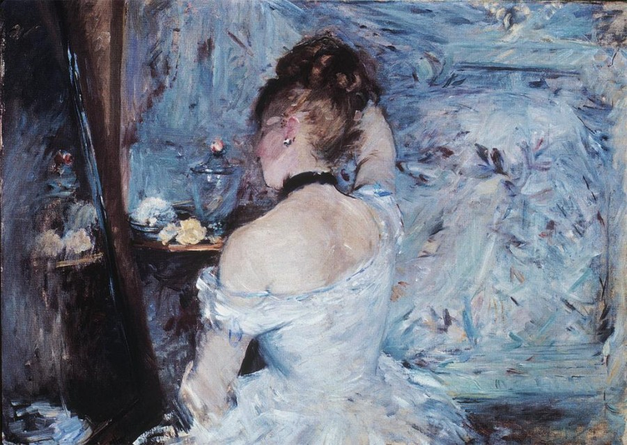 Lady at Her Toilette by Berthe Morisot 1880