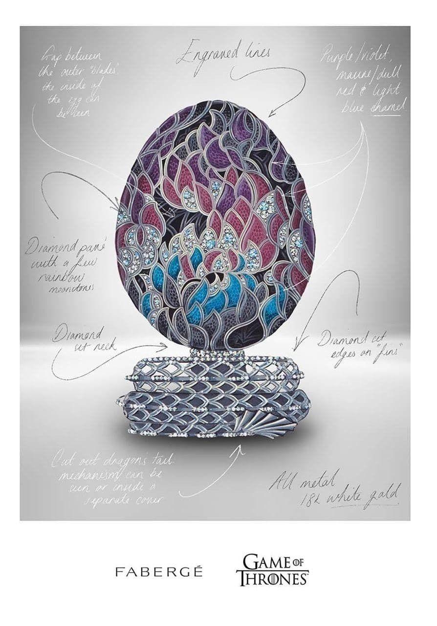 «Фаберже» поздравит «Игру престолов» новым яйцом за миллионы долларов