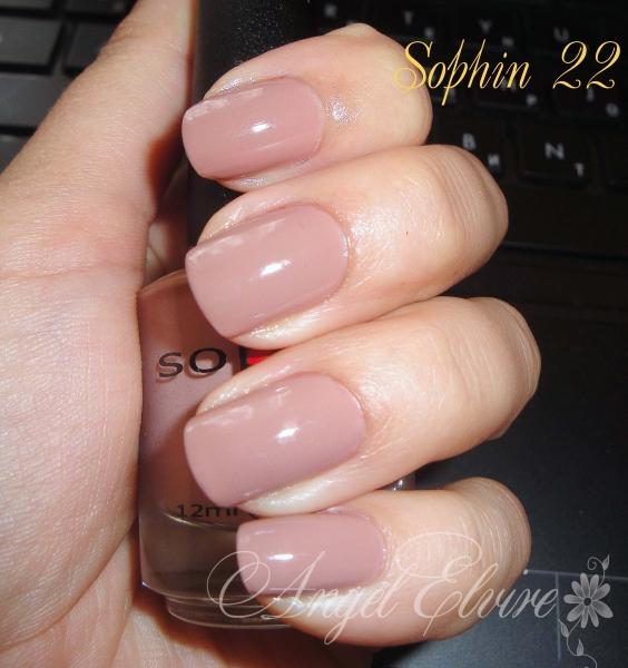 Кремовый лак на ногтях