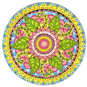leafy-mandala-300px