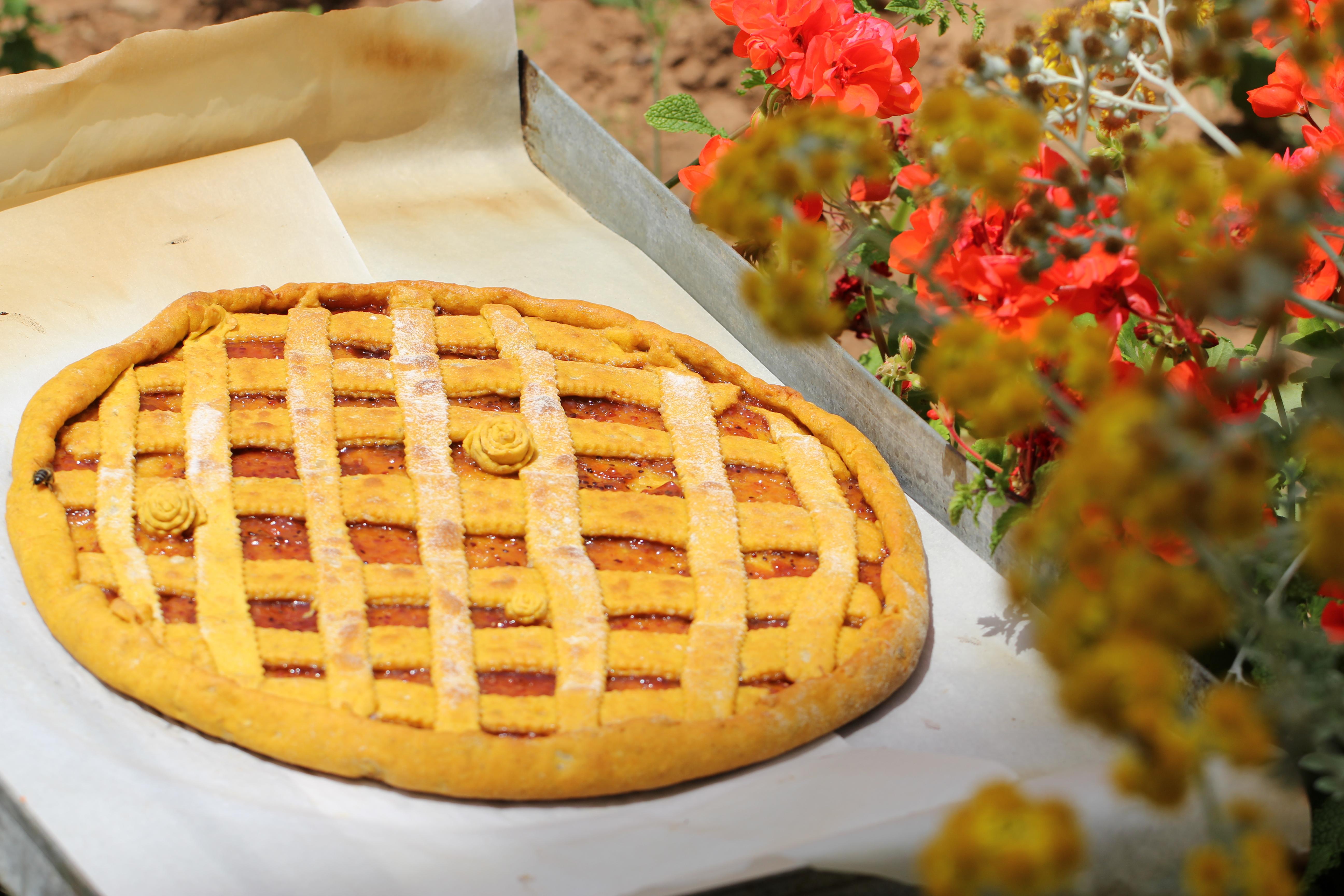 Постный пирог с тыквой рецепт с фото