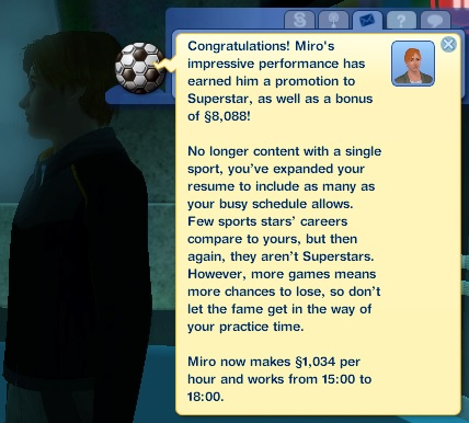 Promotion to Superstar