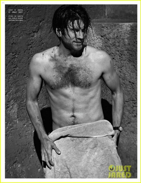 Wes Bentley Shirtless For Flaunt Feature Oh No They