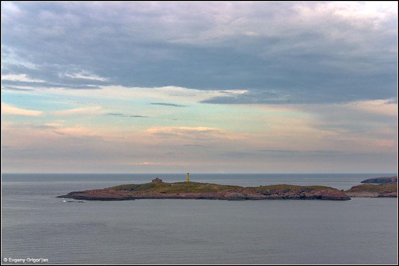 Северо-западная оконечность острова Большой Олений.