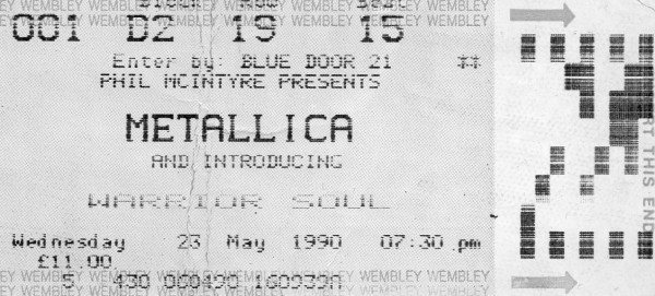 900523 Metallica