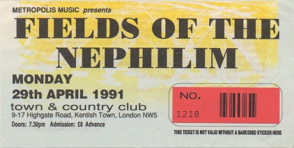 910429 Fields of the Nephilim