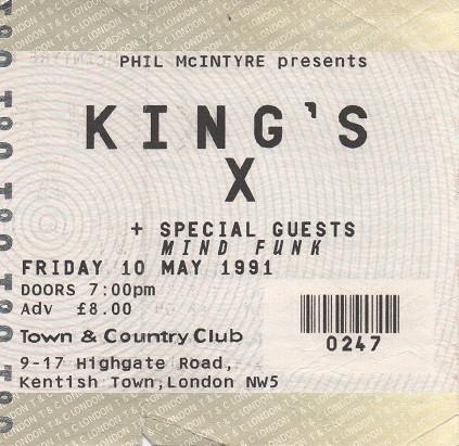 910510 King's X