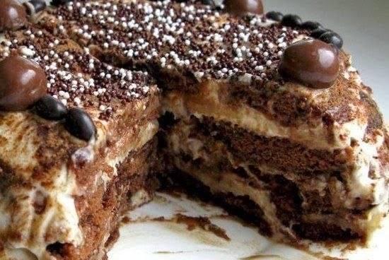 торт-без-выпечки