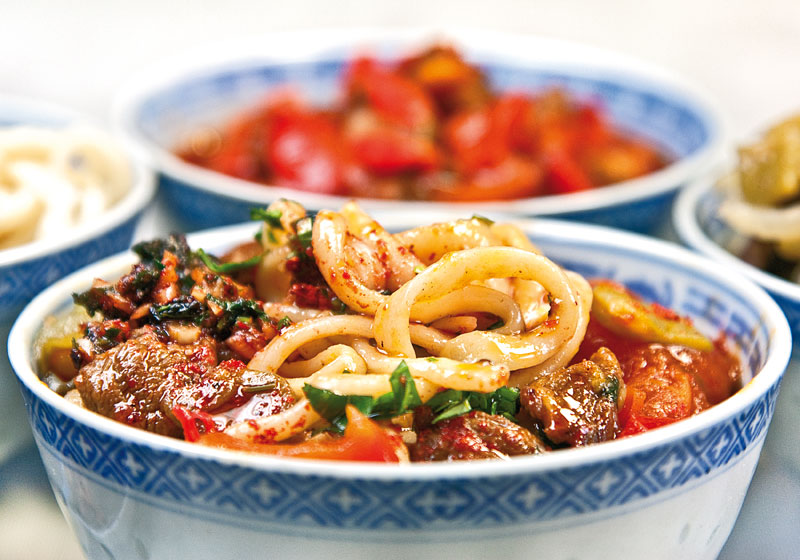 лагман по-уйгурски рецепт с фото