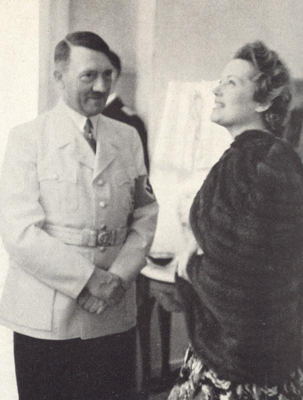 Фюрер и Ольга Чехова