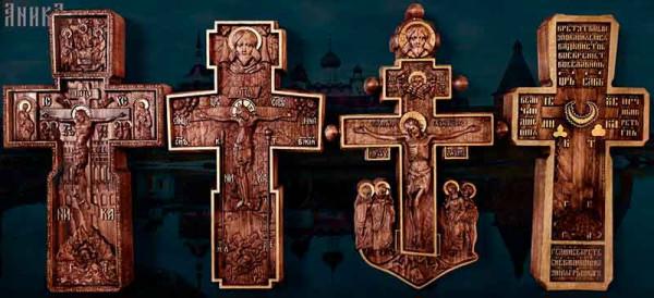 Деревянные православные кресты