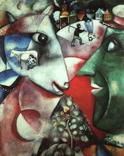 Марк Шагал. Я и деревня