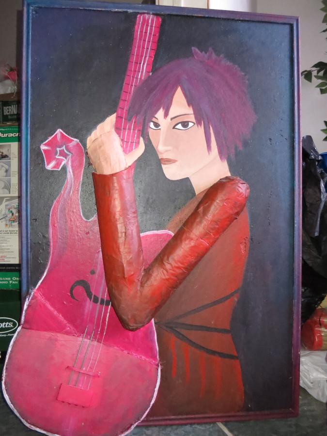 Kaoru painting