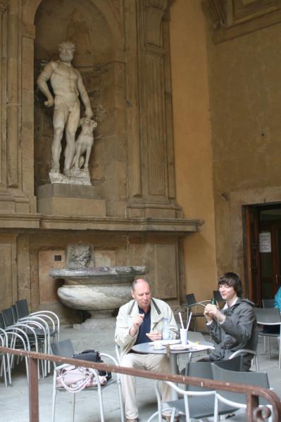 Музейный дворик Палаццо Питти