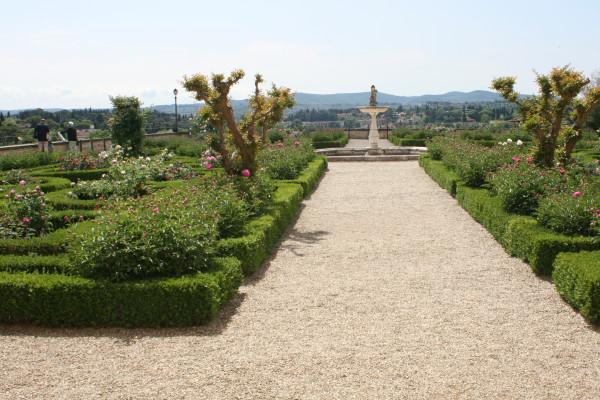 Сад на вершине холма Боболи
