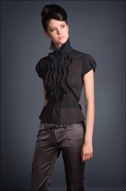 Типы женских блузок