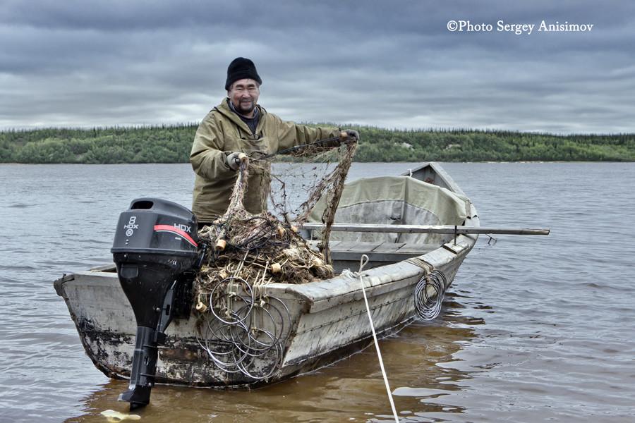 сети и рыбалка ими на ямале
