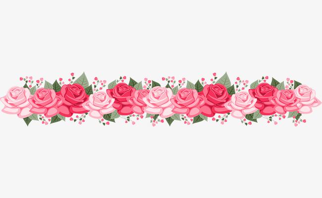 картинки гирлянды из цветов на прозрачном фоне