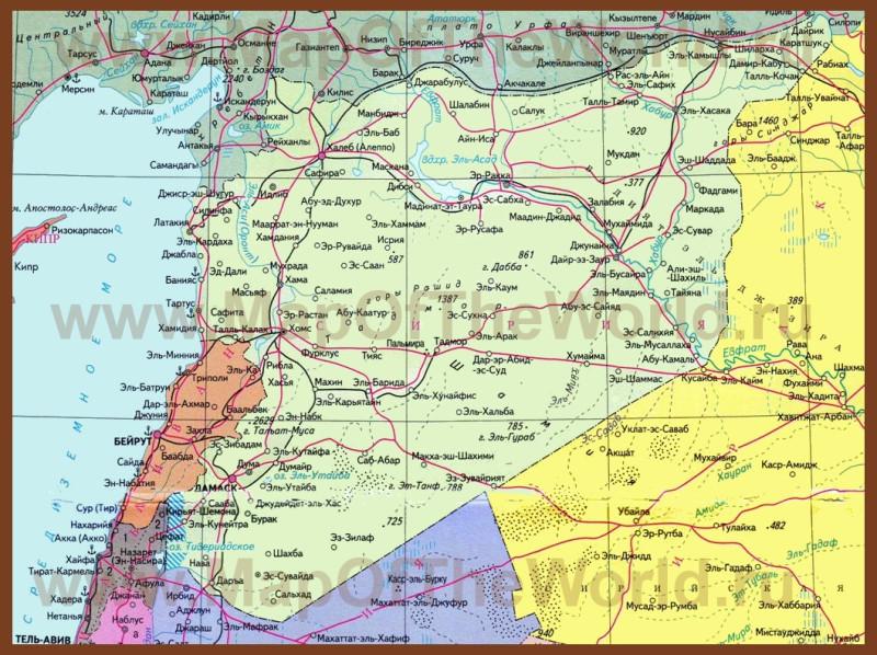 karta-sirii-na-russkom-yazyke