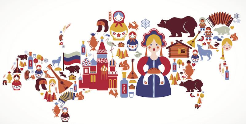 Я живу в России.
