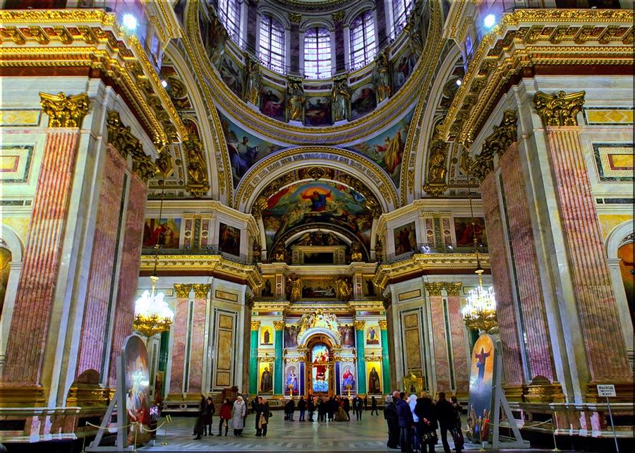 казанский собор фото внутри в санкт-петербурге