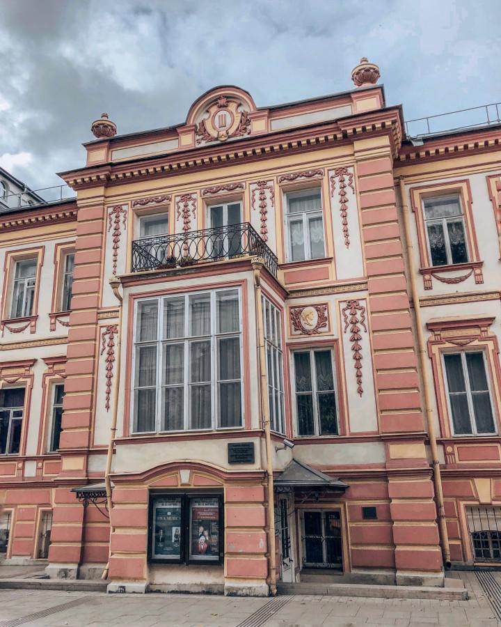 Музейный дом картинка