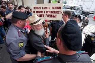 Задержание ветерана ВОВ
