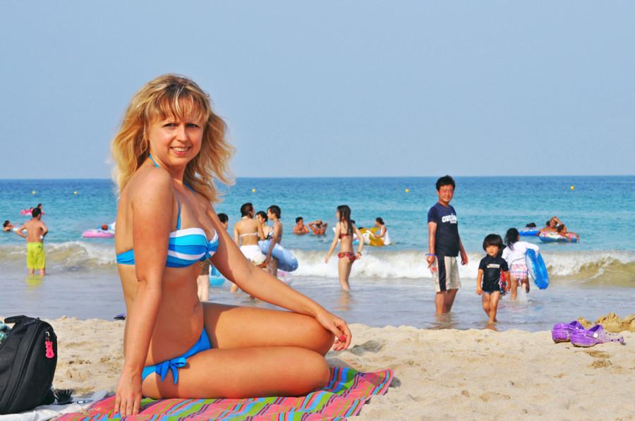 Фото мам на пляже фото 72-261