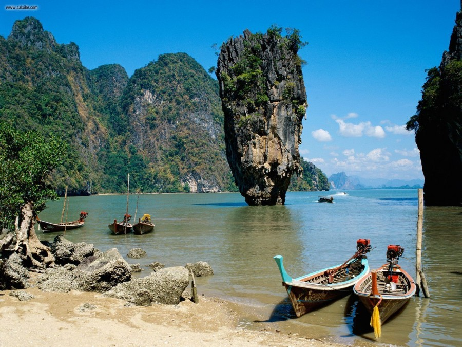 PhangNga_Bay_Phuket_Thailand-Wallpaper