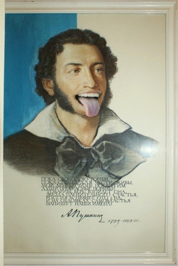 пушкин макаковидный