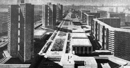 Об урбанистике советской и современной