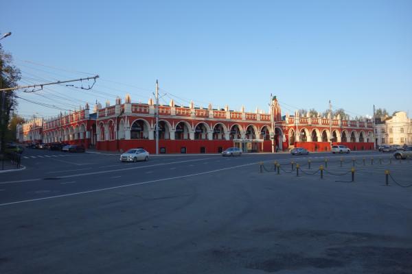 Торговые ряды на площади Старый торг