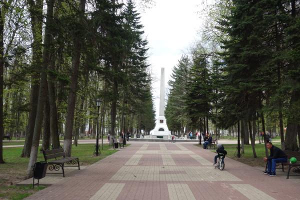 Могила Циолковского в одноименном парке