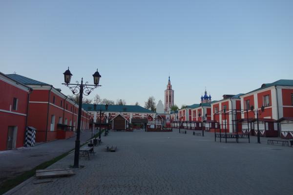 Внутренний двор Торговых рядов