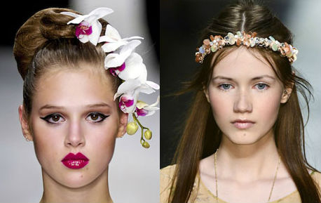 модные прически для длинных волос весна 2013