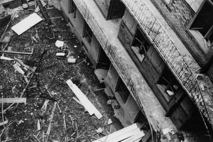 1944. Magyarország, Budapest VII. Baross tér 20.