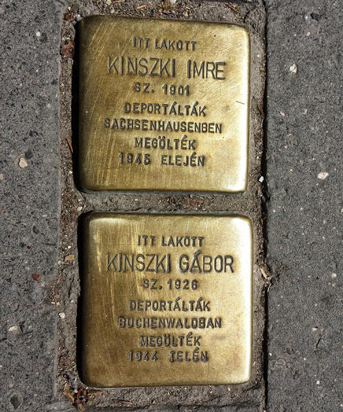 Kinszki_I+G_stolperstein_Bp14_Róna121