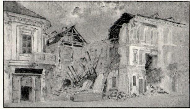 Barabás A beomlott Derra ház
