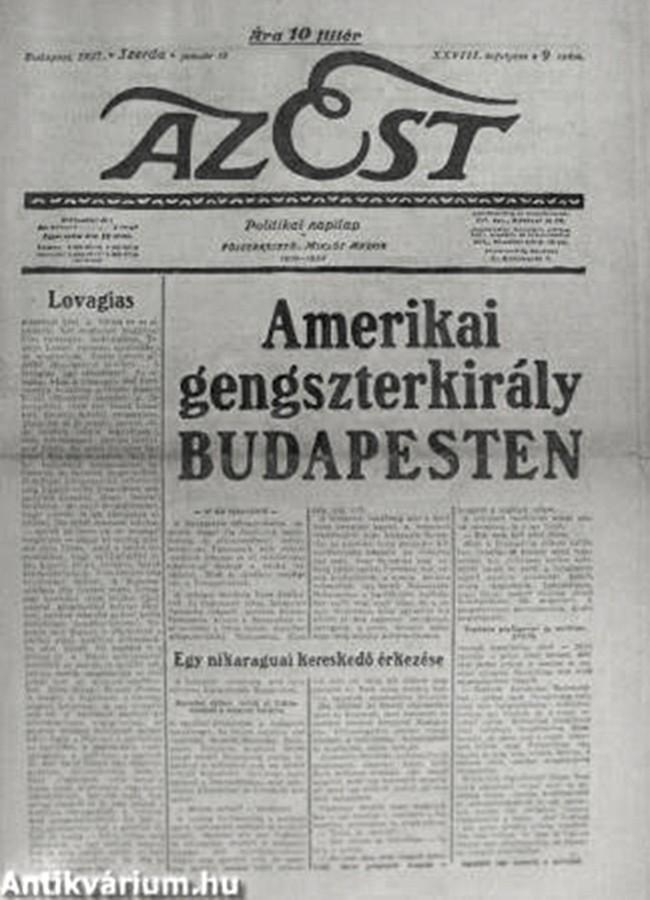 Miklós Andor Az Est 1937. január 13.