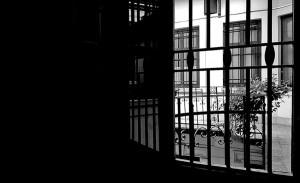 258. Будапешт. Двор. Чб